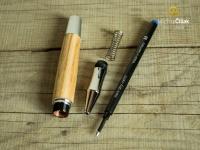 Pero je snadno rozebiratelné a náplň se dá vyměnit