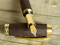 Hrot plnicího pera Burly gold